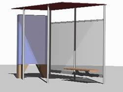 El municipio instaló nuevos paradores de colectivo