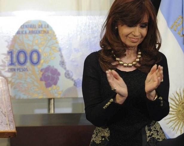 Cristina recibe al bloque oficialista de senadores