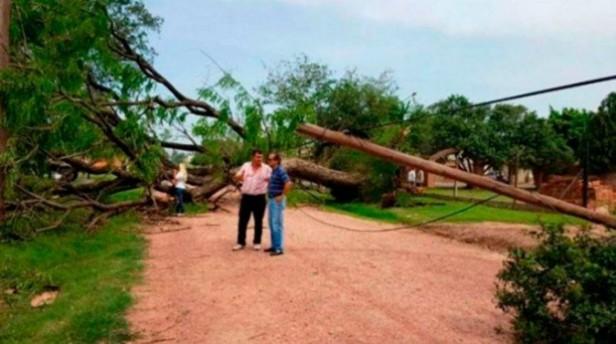 Chaco:  el Tornado provocó serios daños en la provincia