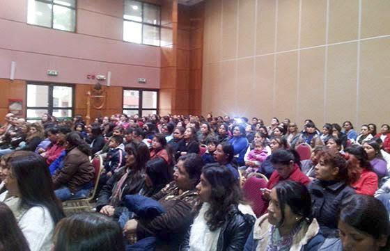 Capacitaciòn a mujeres del programa Ellas Hacen