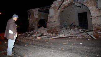 Italia: más de 1.100 réplicas y nuevos derrumbes