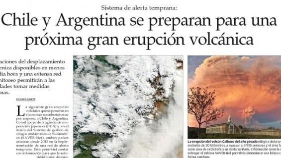 ¿Atentos ante una gran erupción volcánica en Argentina y Chile?