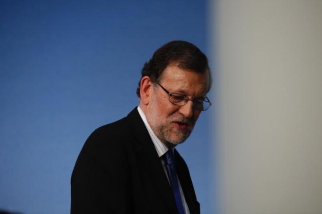El presidente Rajoy anuncia el nuevo gobierno de España