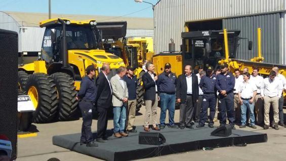 Pauny:Teníamos el sueño de producir 8 tractores por mes y hacemos 10 por día