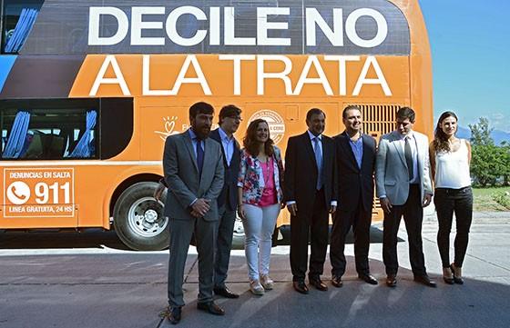 La Provincia presentó la campaña Rutas libres de trata