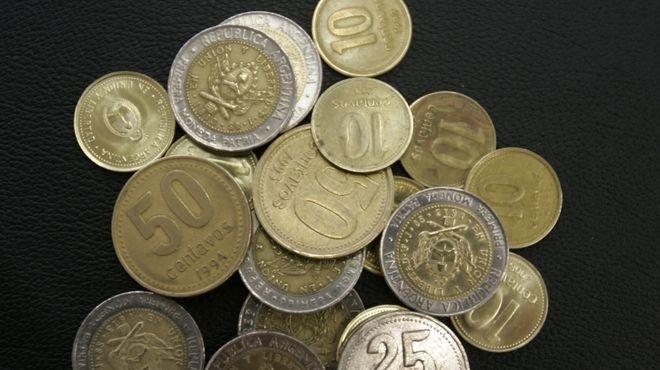 Desde enero circularan las nuevas monedas