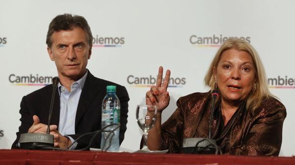 Macri invitò a Carrió a Olivos esta noche