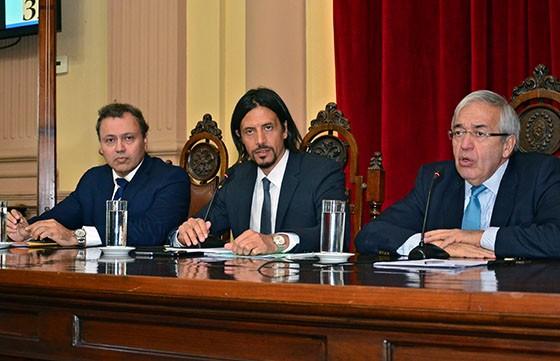 Parodi informó en Diputados sobre el estado general de la Provincia