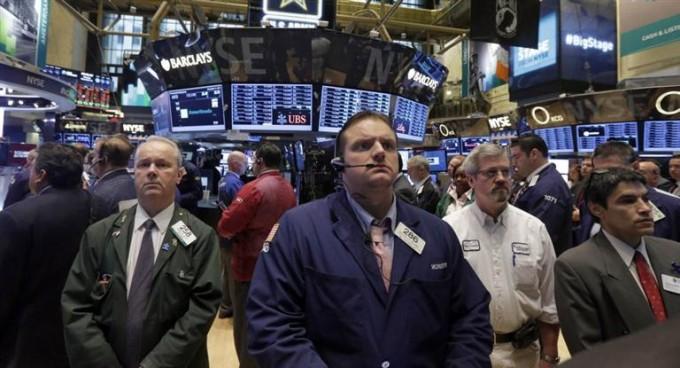 El mercado bursàtil se teñia de rojo