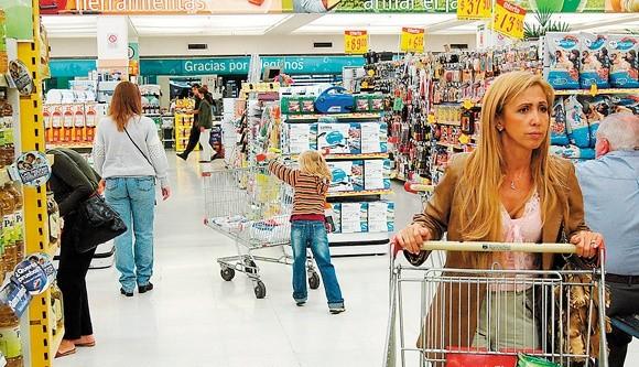 Aseguran que con bono de fin de año y el Ahora 18 el consumo crecería un 3%