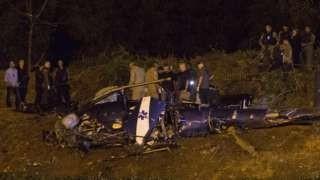 Mueren cuatro policías en Río al estrellarse su helicóptero