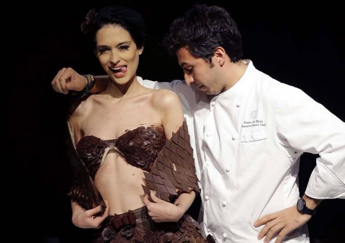 Chocolate para vertir: ¡se mira y no se come!