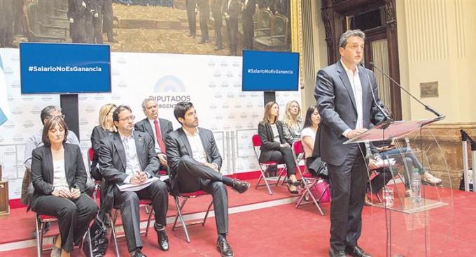 Ganancias se inicia la campaña 2017 en Diputados