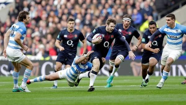 Los Pumas enfrentan a Inglaterra