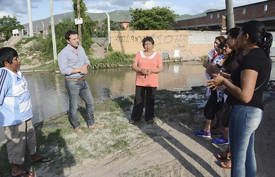 La Provincia ejecutará obras de desagüe en el barrio 9 de Julio