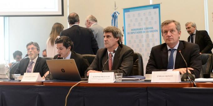 Prat Gay defendió en Diputados el proyecto sobre Impuesto a las Ganancias