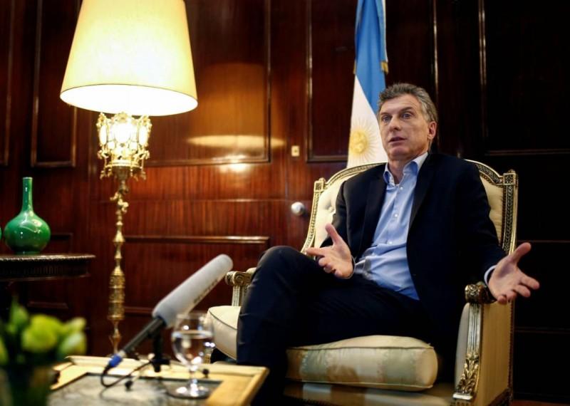 Mauricio Macri:El país va a crecer por lo que haga el sector privado, no el Estado