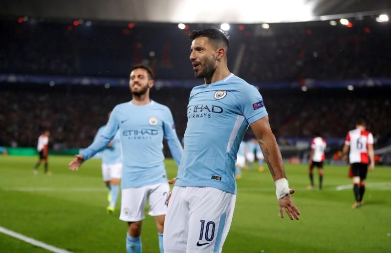 El Kun Agüero hace historia en el Manchester City
