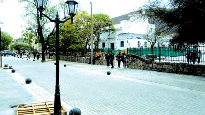 Los colectivos dejaran de circular  por calles del micro-centro
