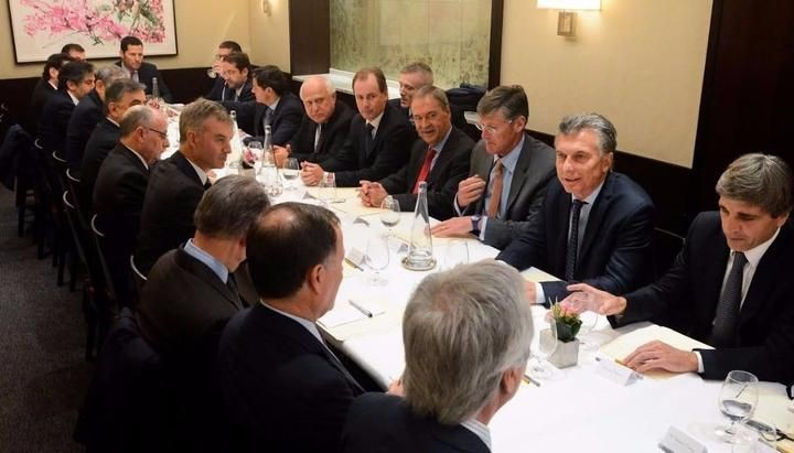 Macri almorzò con empresarios de multinacionales en Nueva York