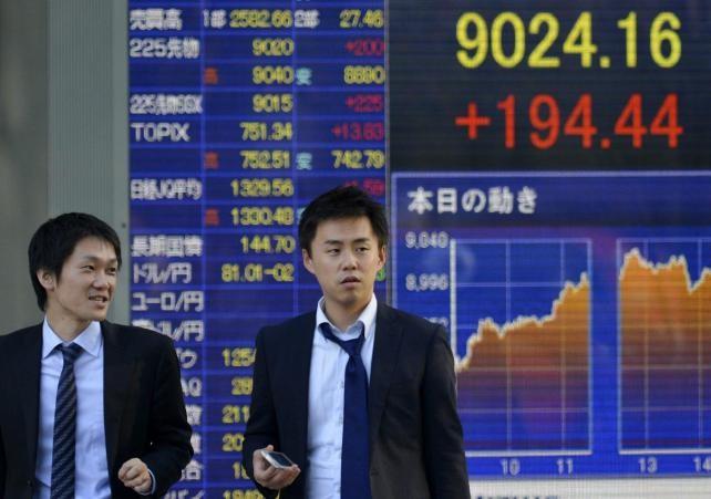 La Bolsa de Tokio cierra en su mayor nivel en casi 26 años