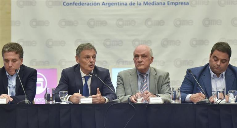 El paquete de reformas fue presentado ante la CAME