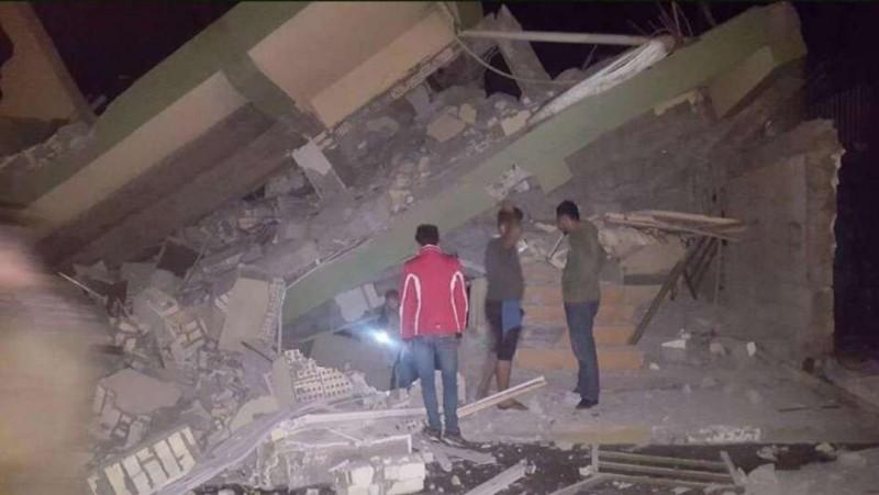 Un terremoto de 7,2 grados dejó varios muertos en la frontera entre Irán e Irak