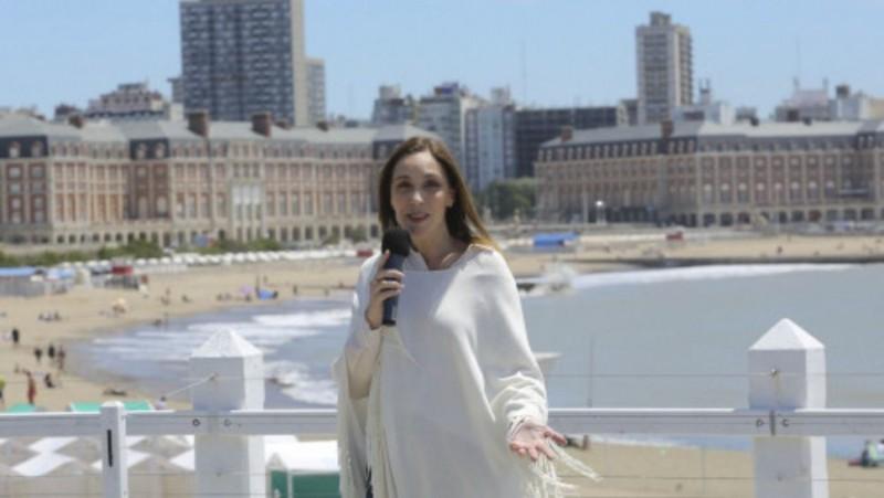 Vidal presentó la temporada de Mar del Plata con grandes descuentos