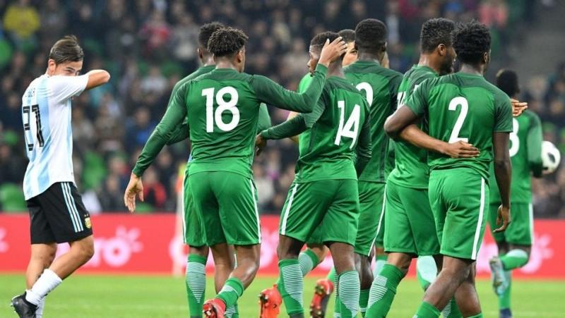 Nigeria dio vuelta el partido y termino ganándole al Seleccionado Argentino