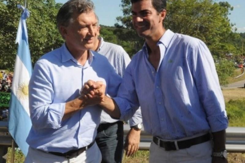 En Salta, Macri pidió terminar con la resignación del roban pero hacen