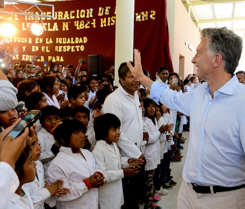 Macri:No existe una fábrica de sueños más importante en el mundo que la escuela