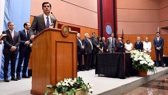 Urtubey tomo juramento a los nuevos secretarios del Ejecutivo provincial
