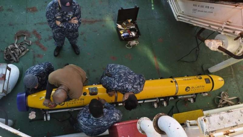 Difunden una ubicación más exacta de la señal del submarino y achican el área de búsqueda