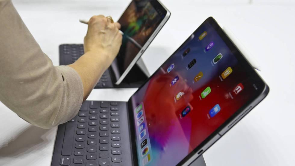 Apple de alta gama elimina botones
