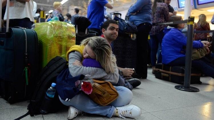 Ya son 111 los vuelos cancelados en el país