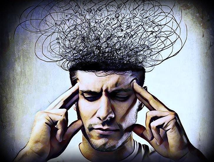 Los pensamientos negativos paralizan el cerebro