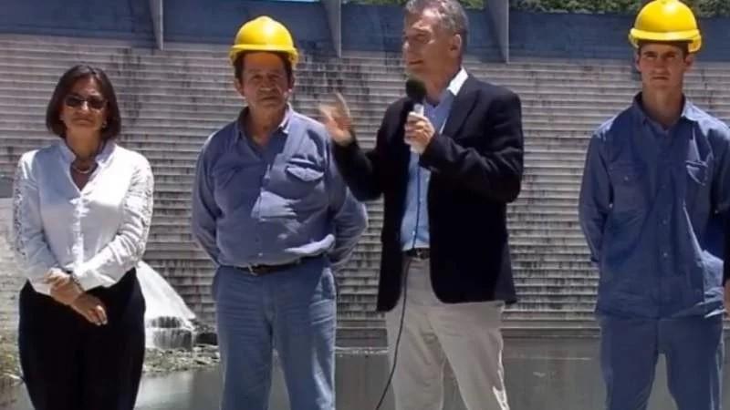 Macri inaugura el dique El Bolsón