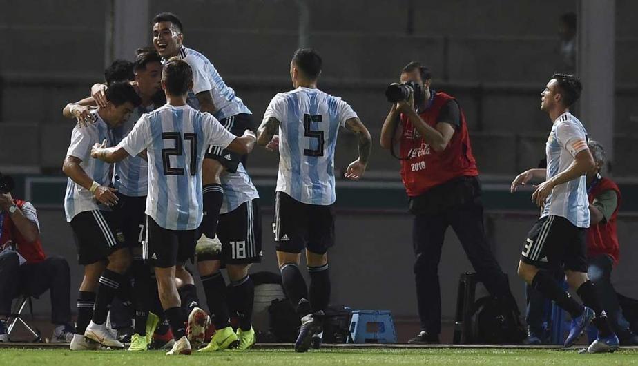 La Selección Argentina triunfo 2-0 sobre México
