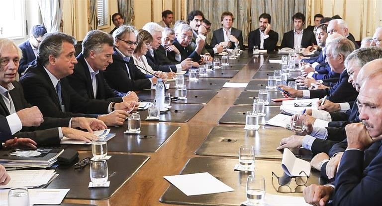 Macri recibió a la Mesa de la Cadena de Ganados y Carnes