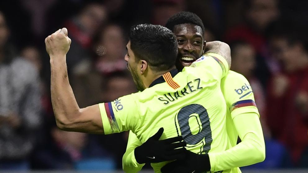 Atlético de Madrid empato 1-1 con Barcelona
