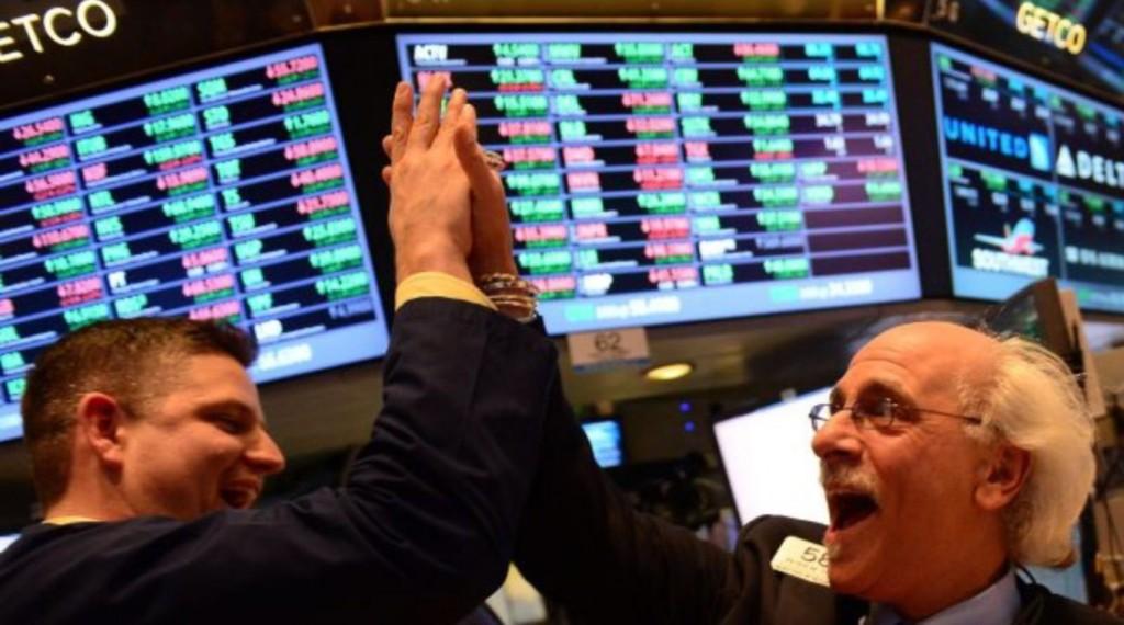 Wall Street cerró con ganancias y fuerte subida del  Dow Jones