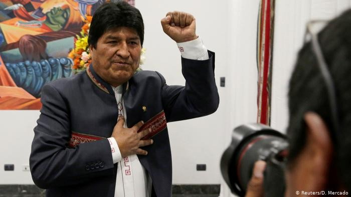 Tribunal Electoral confirmó el triunfo de Evo en primera vuelta