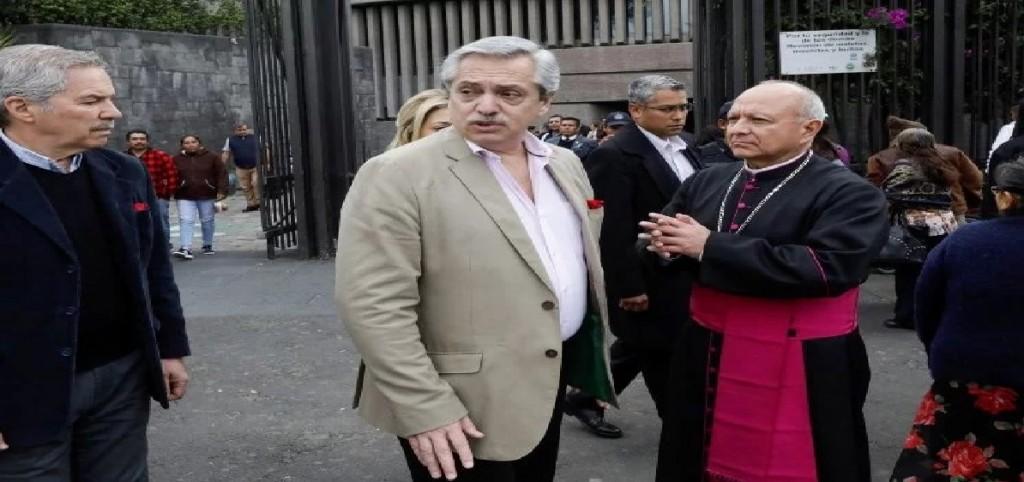 Fernández le encomendó a la Virgen de Guadalupe