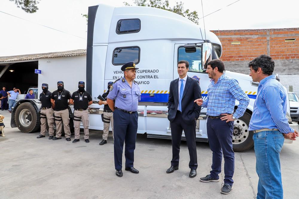 La Policía Provincial recibe vehículos