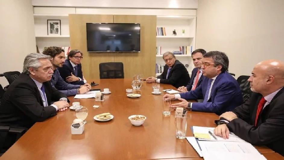 Alberto Fernández se reunió con el titular del BID y hablaron de un crédito de US$ 6 mil millones