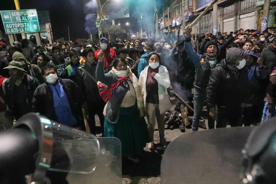 Bolivia en crisis tras los comicios del 20 de octubre