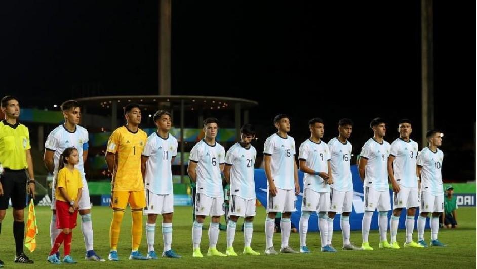 Argentina quedó afuera del Mundial Sub 17