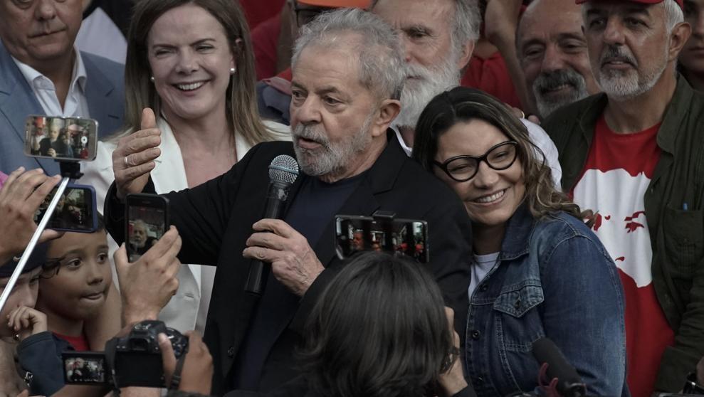 Lula denuncia el intento del Estado brasileño de criminaliza a la izquierda