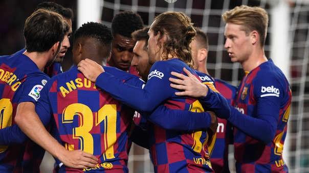 Barcelona venció 4-1 al Celta de Vigo