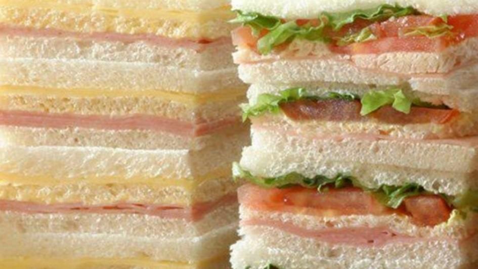 Pan casero de miga para los más ricos sándwiches